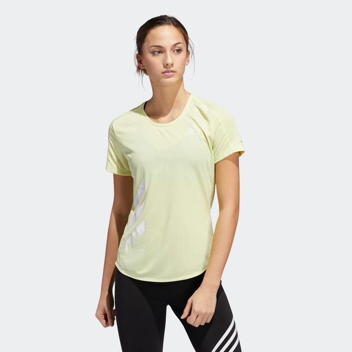 T shirt Run It 3 Stripes Fast