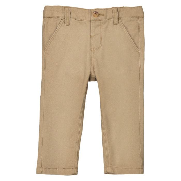 Pantaloni chino da 1 mese a 3 anni  La Redoute Collections image 0