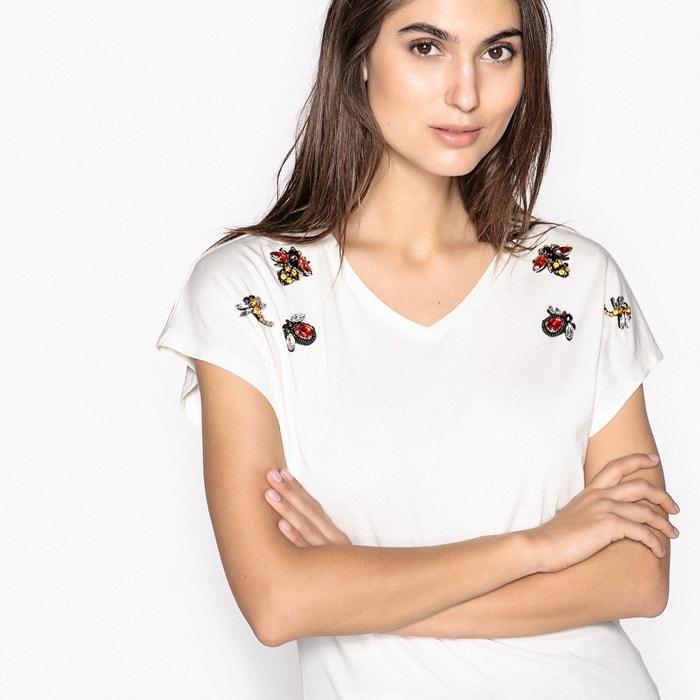 243;n Camiseta con ANNE cuello modal de y de algod WEYBURN pico A4SSKa8H