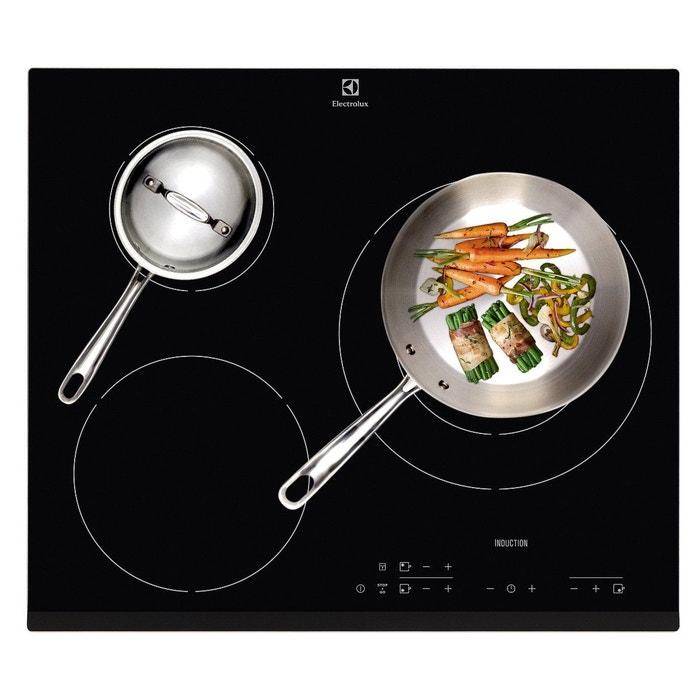 Table de cuisson induction electrolux ex ehh6332fok couleur unique electrolux la redoute - Plaque de cuisson boulanger ...