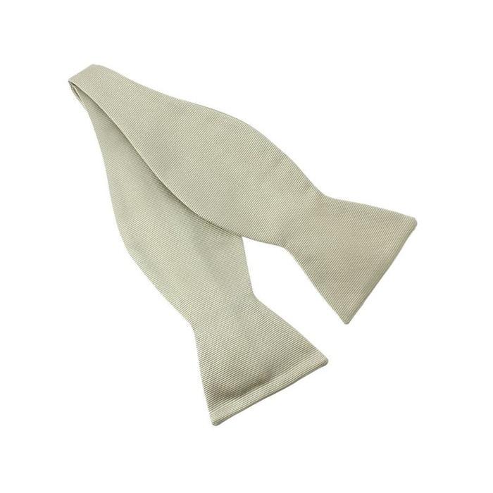 N?ud papillon à nouer en soie, lino, fait à la main blanc Tony Et Paul | La Redoute