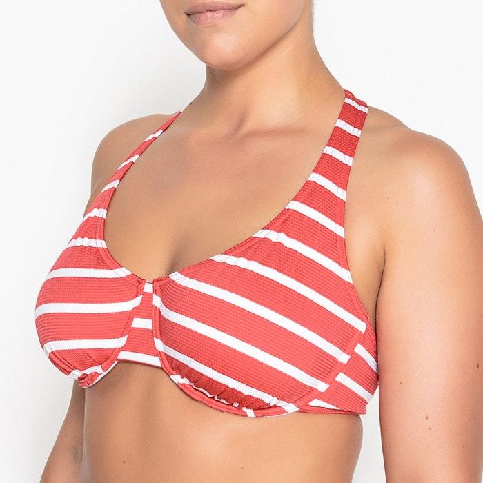 Reggiseno per bikini con ferretti a righe  CASTALUNA image 0