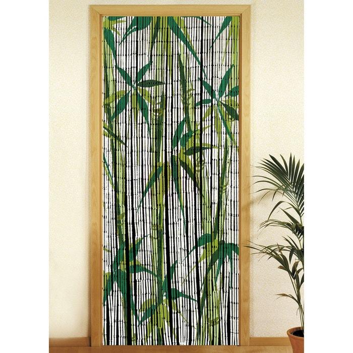 Rideau de porte - bambou - bamboo blanc Wenko | La Redoute