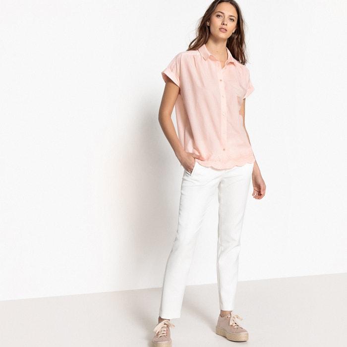 boyfriendmanga amplia Collections La Redoute corta Camisa estilo Nmw8n0