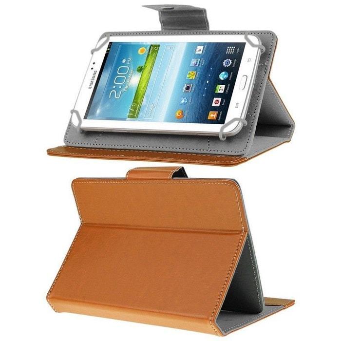 housse tablette 8 pouces universelle support etui protection orange orange yonis la redoute. Black Bedroom Furniture Sets. Home Design Ideas