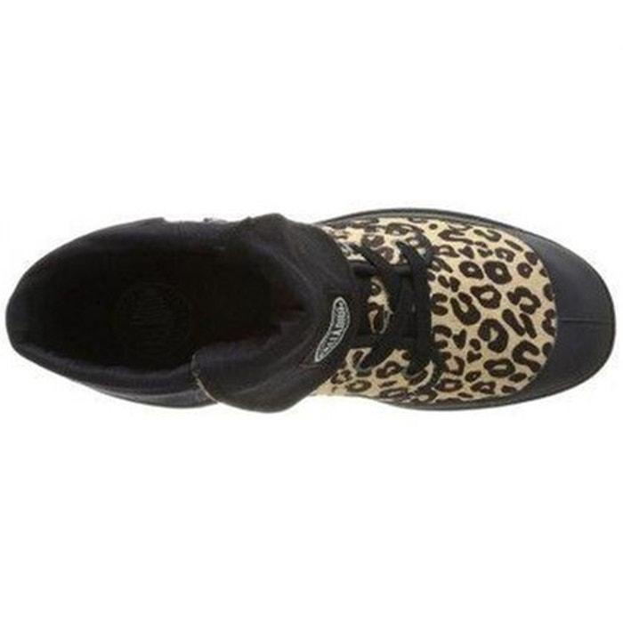 Boots femme cuir montantes ranger emb palladium leopard noir P Les Dates De Sortie Vente En Ligne 2018 Plus Récent À Vendre Best-seller Rabais tFx0HrGGsX
