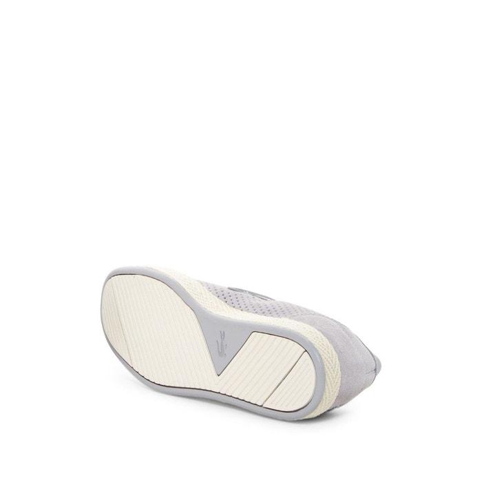 Basket lacoste tombre slip-on 117 - 733cam1012007 gris Lacoste
