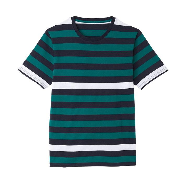 T-shirt scollo rotondo maniche corte  La Redoute Collections image 0
