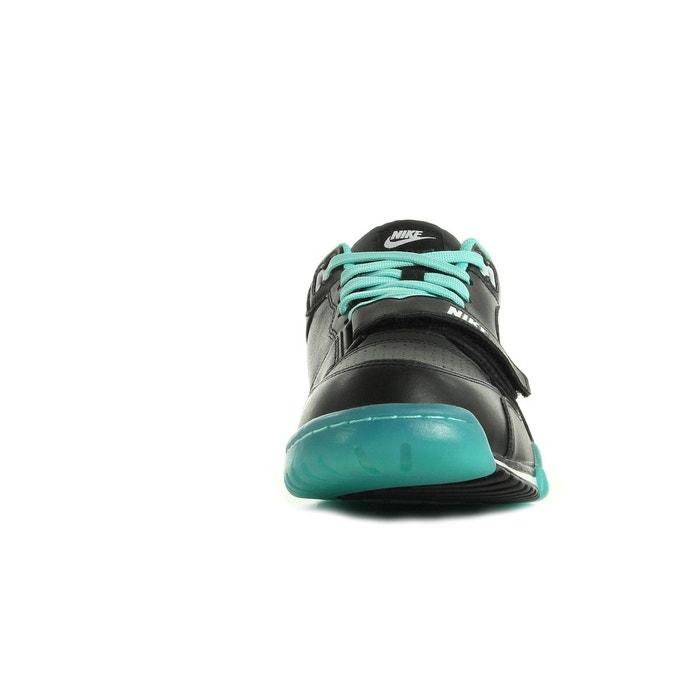 Basket nike air trainer 1 low street - 637995-005 noir, vert deau et blanc Nike
