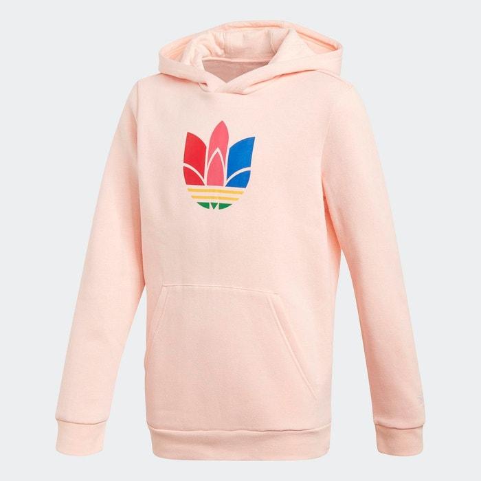 Periodo perioperatorio Aproximación Patentar  Sweat-shirt à capuche adicolor 3d trefoil rose Adidas Originals | La Redoute