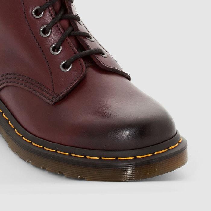 d915b56bcb5c Boots cuir à lacets pascal bordeaux Dr Martens - commontreasuryfarm.com