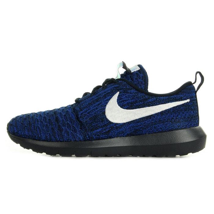 Roshe nm flyknit bleu marine, blanc, noir Nike