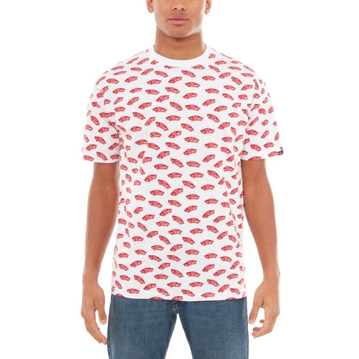 corta con cuello redondo corta VANS estampada Camiseta manga RZq77Ov