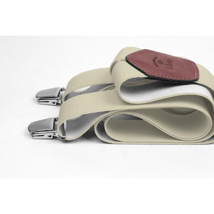 Bretelles larges ecru plein la vue ecru Les Bretelles De Leon | La Redoute Vente Meilleur Liquidation Usine 4vrmM