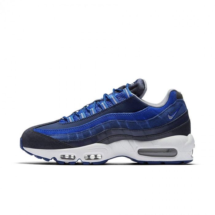 Basket nike air max 95 essential - 749766-405 bleu Nike