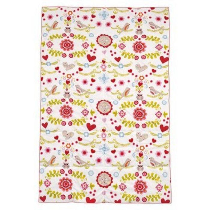 z llner la couverture b b bloom quipement de lit couverture rose zollner la redoute. Black Bedroom Furniture Sets. Home Design Ideas