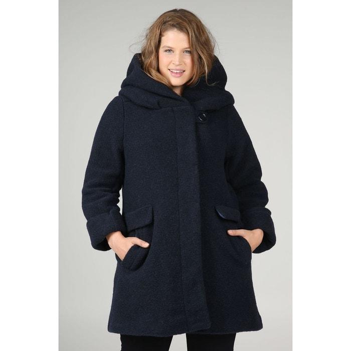 Manteau en laine avec capuche  PAPRIKA image 0