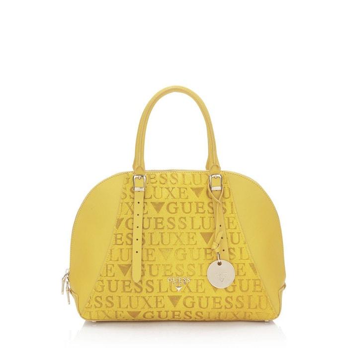c38dcc8be4 Sac mallette lady luxe en cuir Guess | La Redoute