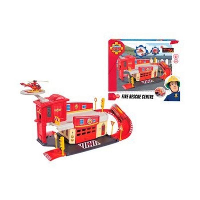 dickie toys le centre de secours sam le pompier voiture rouge dickietoys la redoute. Black Bedroom Furniture Sets. Home Design Ideas