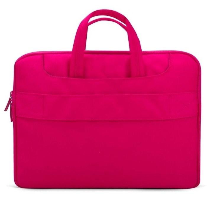 meilleures baskets b002c a38b6 Sacoche PC Portable 15.4' Pochette Ordinateur Macbook Antichoc Rose
