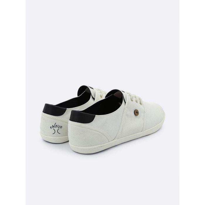 Faguo Baskets en coton CYPRESS blanc Blanc TbuQp8