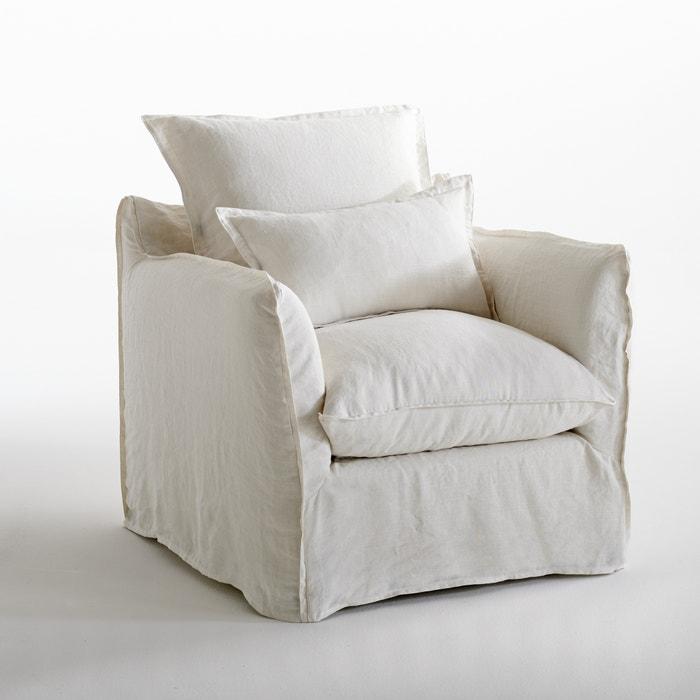 Fauteuil en lin confort bultex, Odna  La Redoute Interieurs image 0