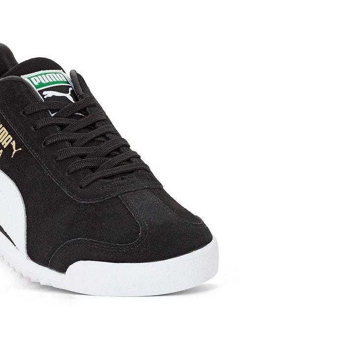 Baskets roma suede noir Puma
