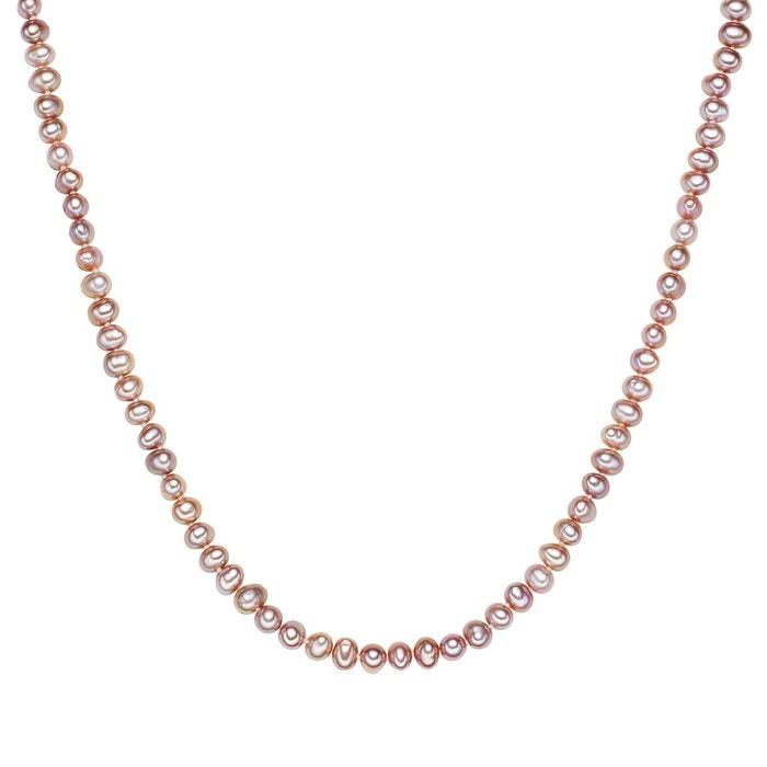 Collier de perles lilas Valero Pearls | La Redoute Remise En Commande Livraison Gratuite 100% D'origine Pas Cher 2018 Nouvelle Pas Cher Authentique Vente Style De Mode En Ligne SIMPyPi