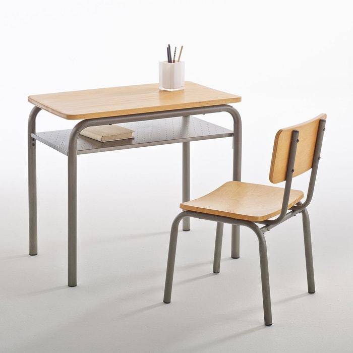 Bureau et chaise d colier vintage buton la redoute interieurs la redoute - Bureau enfant la redoute ...