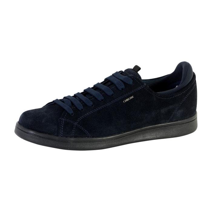 Geox Basket  Warrens A Navy Bleu - Livraison Gratuite avec - Chaussures Baskets basses Homme