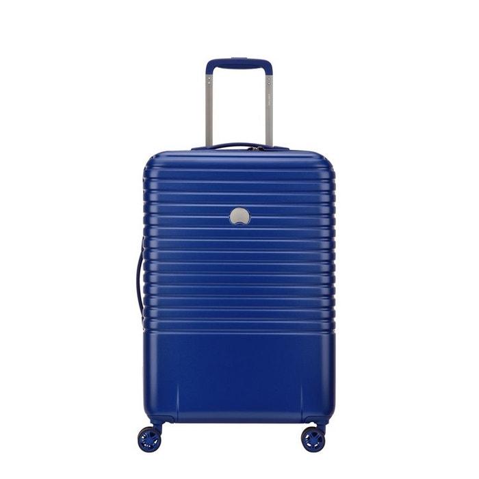 Valise rigide Delsey Caumartin Plus 65 cm Bleu 7BnJd0