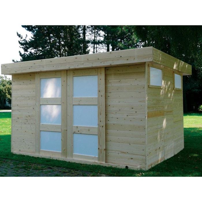 abri jardin sjobo m x x m 19. Black Bedroom Furniture Sets. Home Design Ideas
