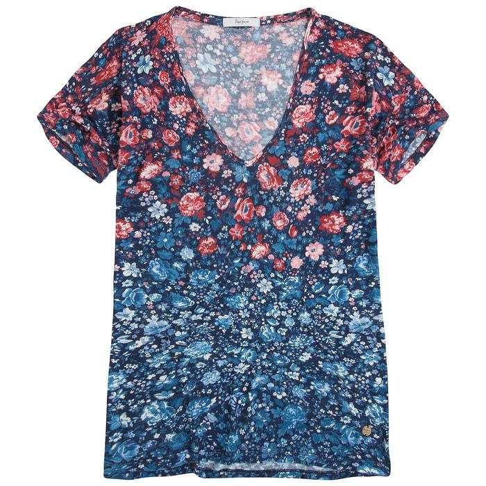 Image Tee shirt col v PEPE JEANS