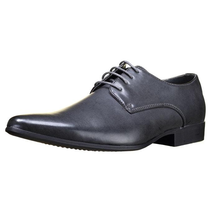 Chaussure derbie à lacets gris Galax