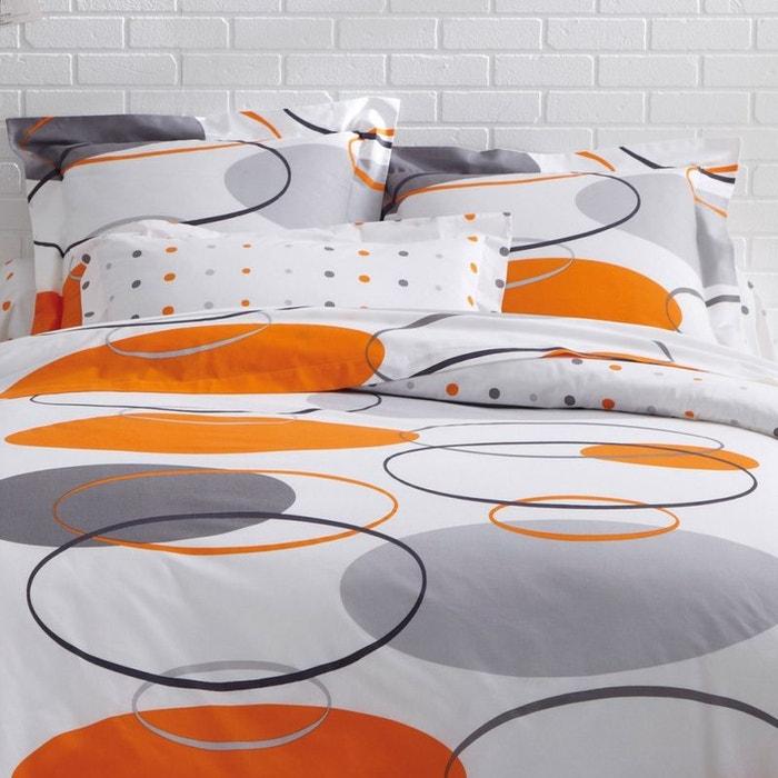 parure drap nasa coton gris tradition des vosges la redoute. Black Bedroom Furniture Sets. Home Design Ideas