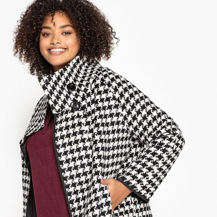 Manteau court, col montant en laine mélangée  CASTALUNA image 0