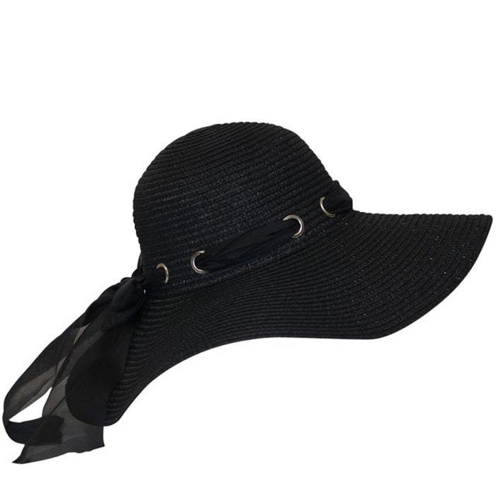 chapeau capeline uni noir noir chapeau tendance la redoute. Black Bedroom Furniture Sets. Home Design Ideas