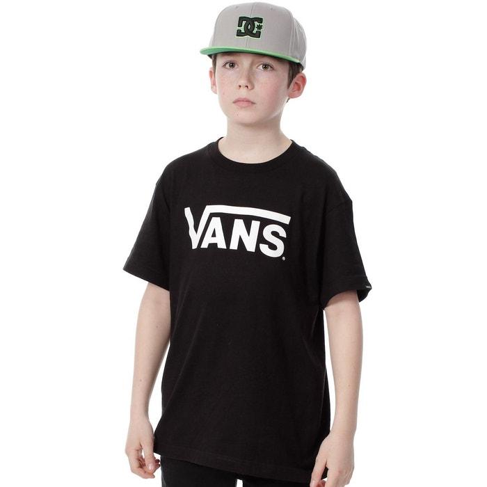 3cff1071b1d6b Tee shirt enfant classic noir Vans