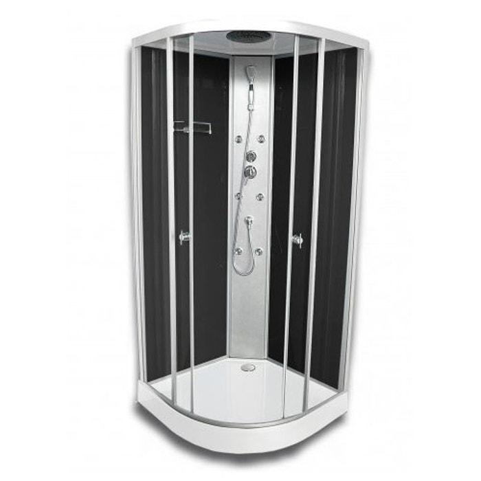 cabine de douche 39 colors black 39 noir home bain la redoute. Black Bedroom Furniture Sets. Home Design Ideas