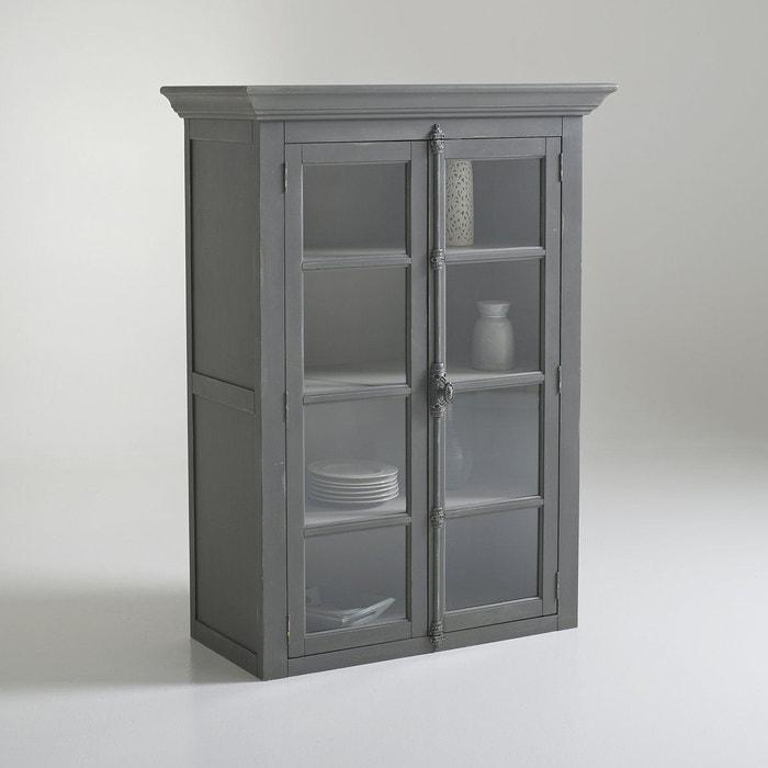 vaisselier 2 portes patin eulali gris anthracite la redoute interieurs la redoute. Black Bedroom Furniture Sets. Home Design Ideas