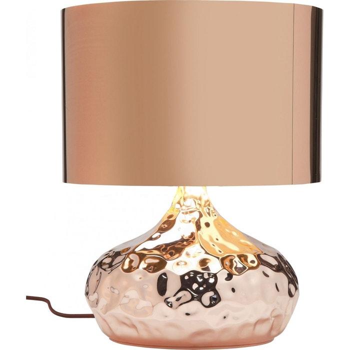 lampe de table rumble cuivre 38 cm kare design rose kare. Black Bedroom Furniture Sets. Home Design Ideas