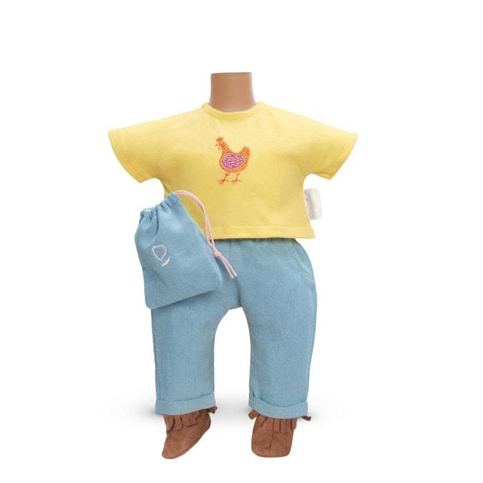 Ensemble bébé 36 cm : Ensemble pantalon côté soleil COROLLE