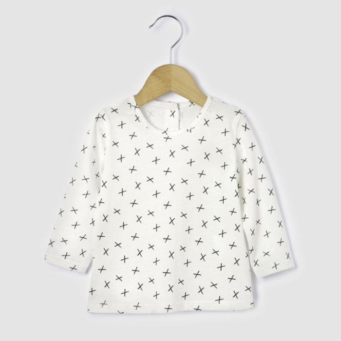 Image Cross Print T-Shirt, Birth-2 Years R mini