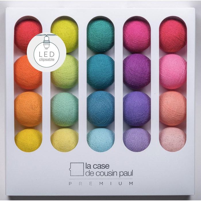 coffret guirlande led premium jimi couleur unique la case. Black Bedroom Furniture Sets. Home Design Ideas