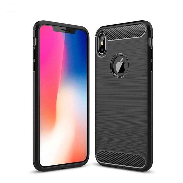 coque iphone xs max carbonne