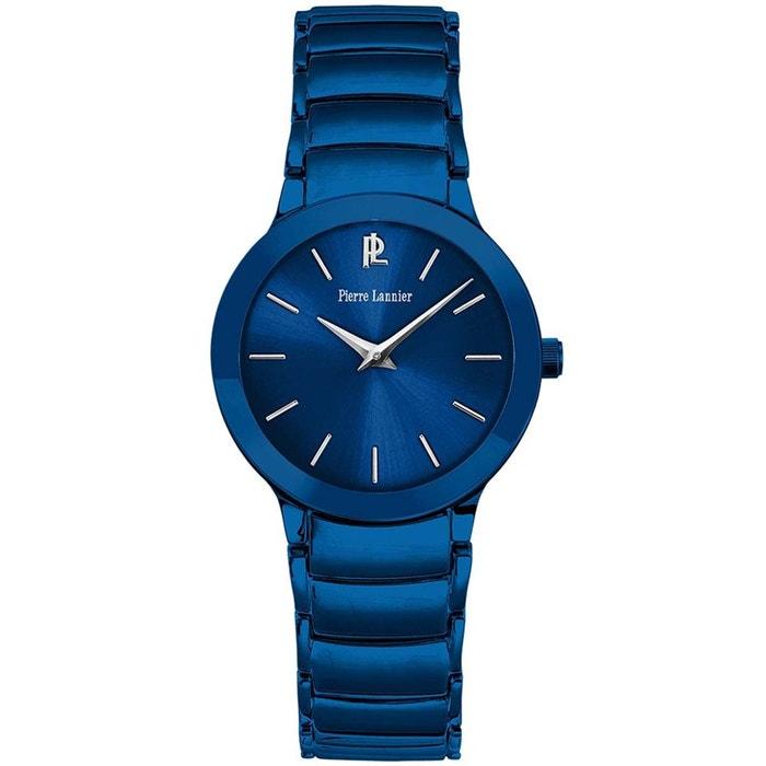 Montre en acier bleu bleu Pierre Lannier | La Redoute Acheter Pas Cher Prix Bas Frais D'expédition cMJAD
