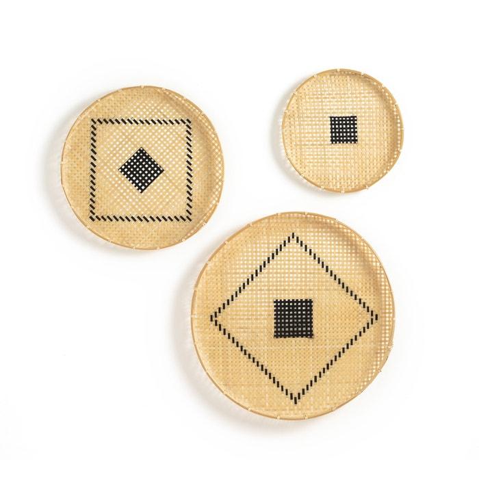 Image Jutlo Set of 3 Wall Baskets La Redoute Interieurs