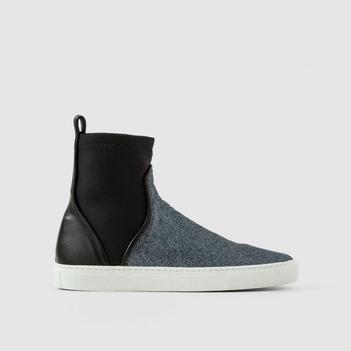 "Bild Hohe Sneakers ""Cedric Charlier"", Materialmix CEDRIC CHARLIER"