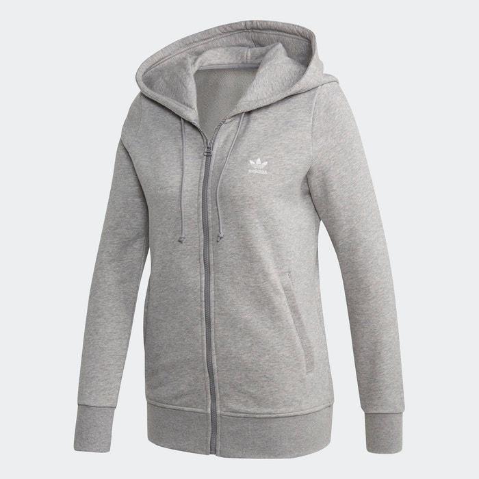 Veste à capuche zippée Trefoil Essentials