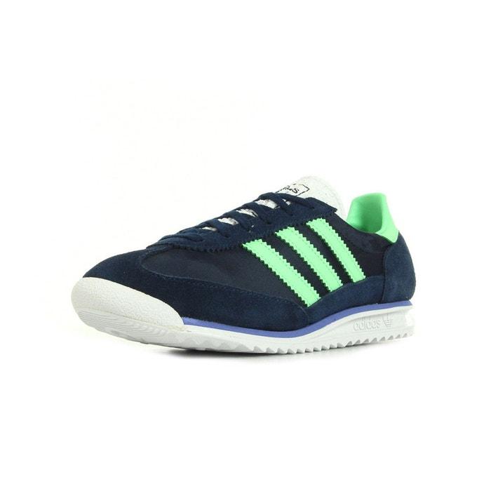 Sl 72 bleu marine/vert Adidas